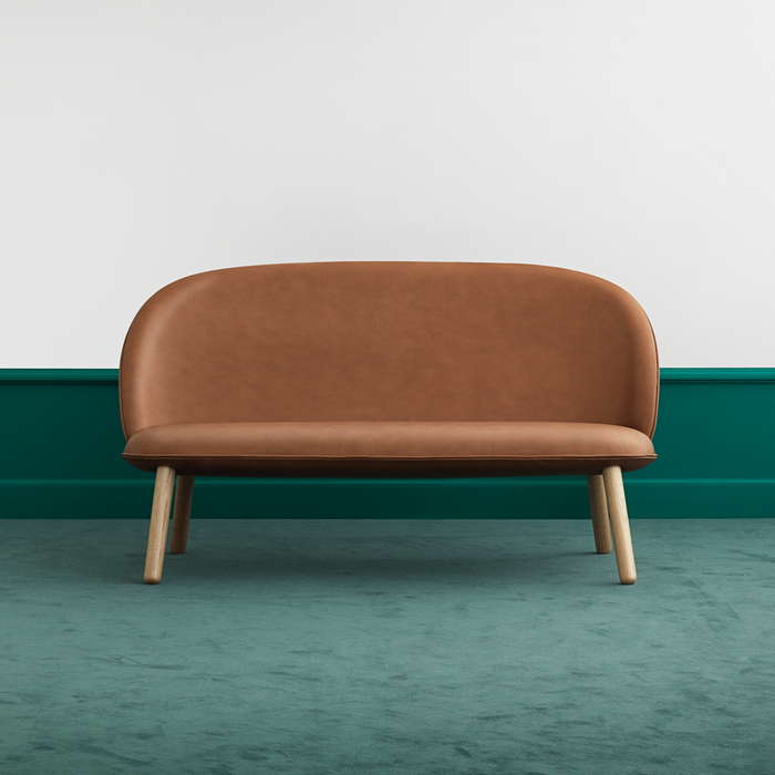 Normann Copenhagen Ace 2-seater Sofa with Tango Leather 王牌系列 雙人沙發 皮革版