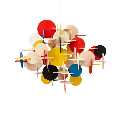 Normann Copenhagen Bau Pendant Multicolor Large 童話城堡 吊燈 彩色版 大尺寸