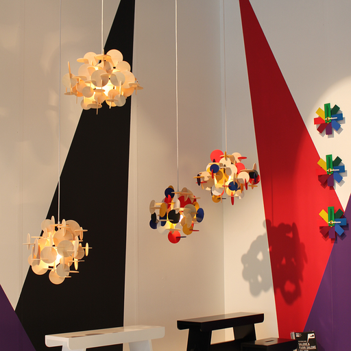 Normann Copenhagen Bau Pendant Multicolor Small 童話城堡 吊燈 彩色版 小尺寸