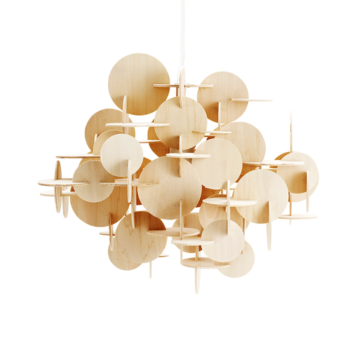 Normann Copenhagen Bau Pendant Nature Color Large 童話城堡 吊燈 原木色版 大尺寸