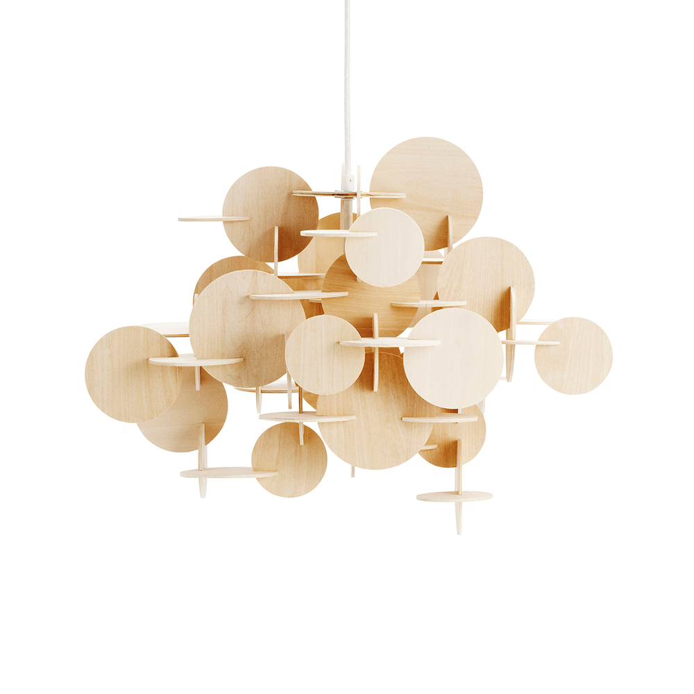 Normann Copenhagen Bau Pendant Nature Color Small 童話城堡 吊燈 原木色版 小尺寸