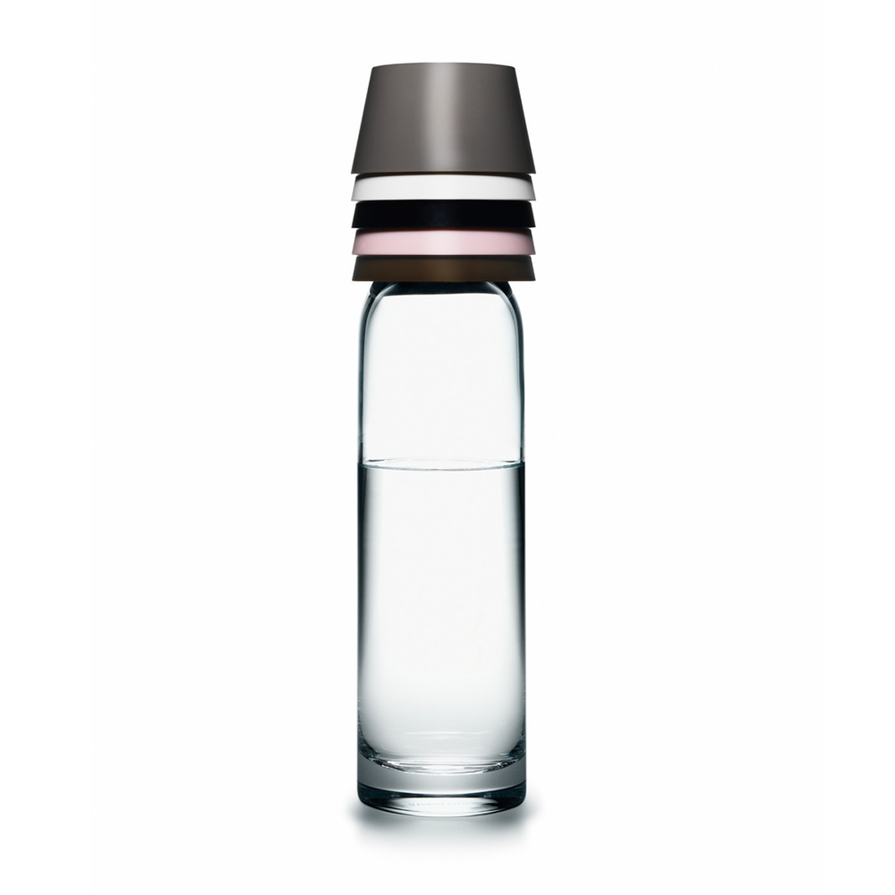 【絕版品】Normann Copenhagen Cristal Carafe with 5 Cups 清透 玻璃水瓶套組