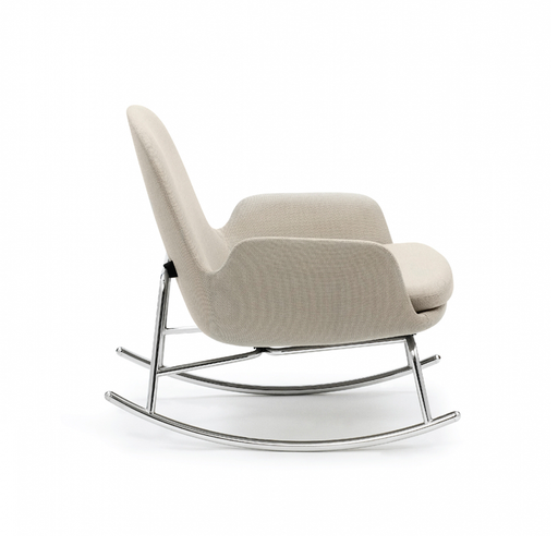 Normann Copenhagen Era Low Rocking Chair with Fame 年代 低背 休閒搖椅 羊毛紡織包覆版