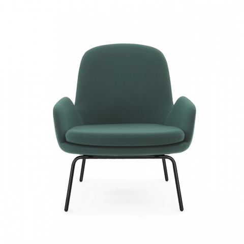 Normann Copenhagen Era Low Steel Lounge Chair with Fame 年代 低背 金屬椅腳 羊毛紡織包覆版