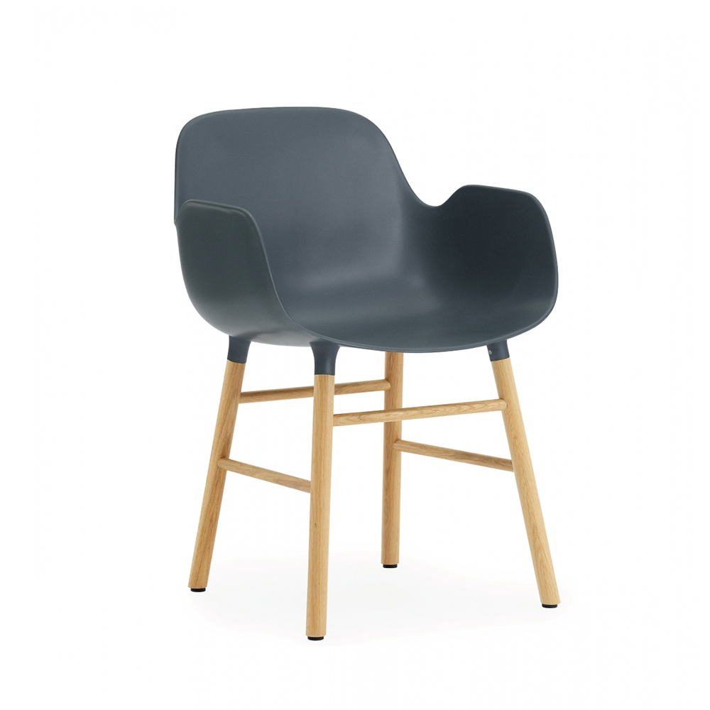 Normann Copenhagen Form Armchair Wood Base 俐落風格系列 扶手椅 木質椅腳
