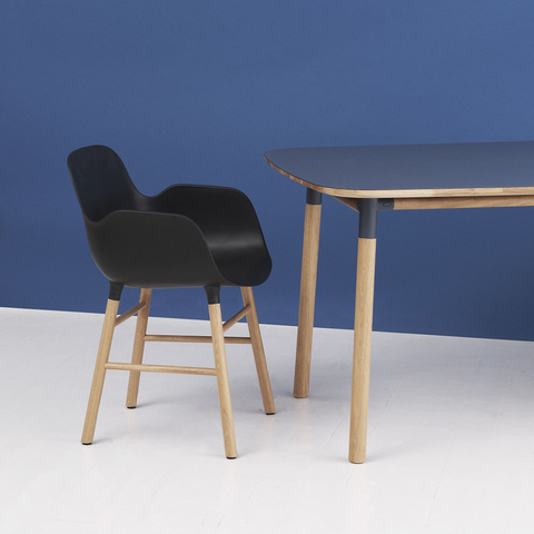 Normann Copenhagen Form Table 120x120cm 俐落風格系列 方形餐桌