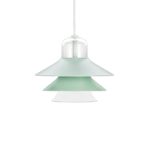 Normann Copenhagen Ikono Suspension Lamp Small 20cm 彩色圖標 金屬吊燈 小尺寸