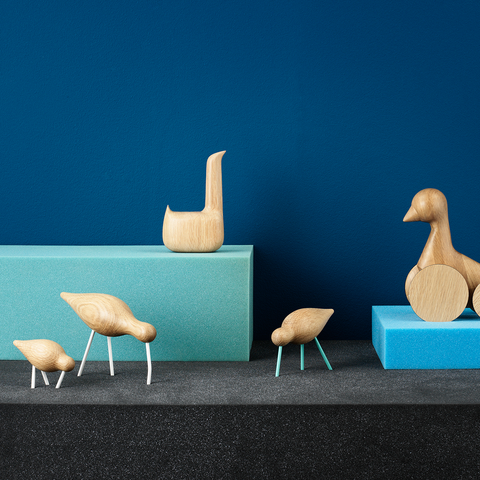 Normann Copenhagen Shorebird 水鳥 木偶擺飾系列