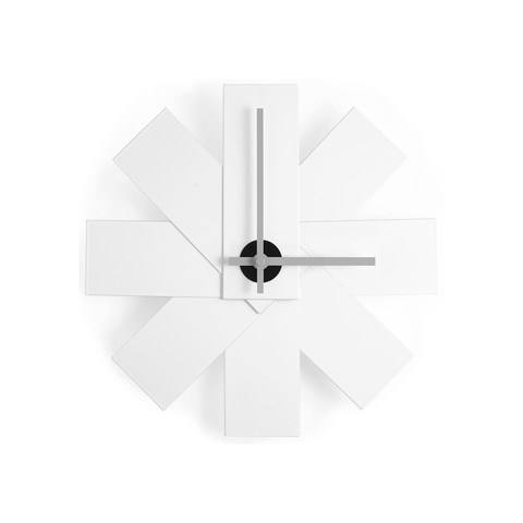 Normann Copenhagen Watch Me Wall Clock 彩色風車 壁鐘 單色版