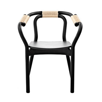 Normann Copenhagen Knot Chair 結繩 木質扶手椅