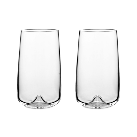 Normann Copenhagen Long Drink Glasses 450cc 高玻璃水杯 / 啤酒杯 兩件組