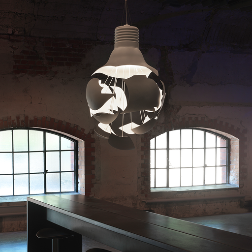 Northern Scheisse Pendant Light 破繭 白色吊燈