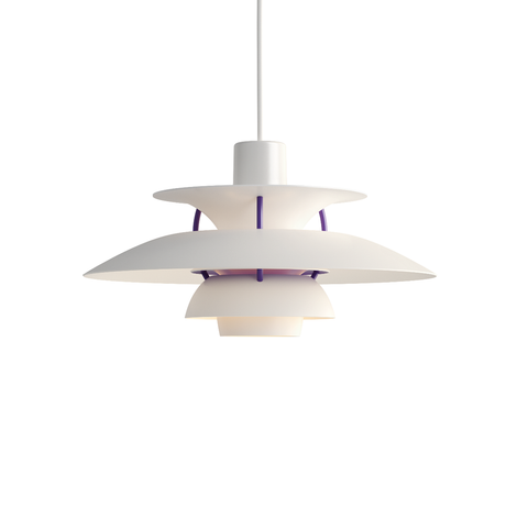 Louis Poulsen PH 5 Mini Suspension Lamp in Matt White 30cm 霧面白色系列 吊燈 - 小尺寸款