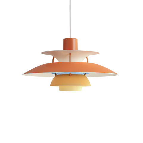 Louis Poulsen PH 5 Mini Suspension Lamp in Matt Colour 30cm 霧面色彩系列 吊燈 - 小尺寸款