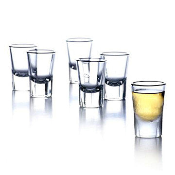 Rosendahl Grand Cru Shot Glasses, 6pcs 40cc, GC 系列 剔透 玻璃 烈酒杯 六件組