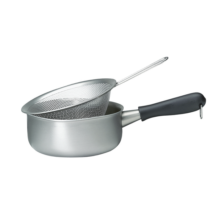 Sori Yanagi Stainless Steel Punching Strainer with Handle 柳宗理 不鏽鋼調理盆系列 單柄漏杓
