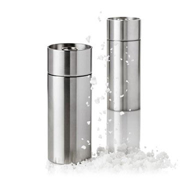 Stelton Cylinda-Line AJ Salt & Pepper Mill 不鏽鋼 椒鹽 研磨罐