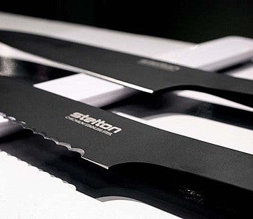 Stelton Pure Black Santoku Knife 黑白主義 三德刀