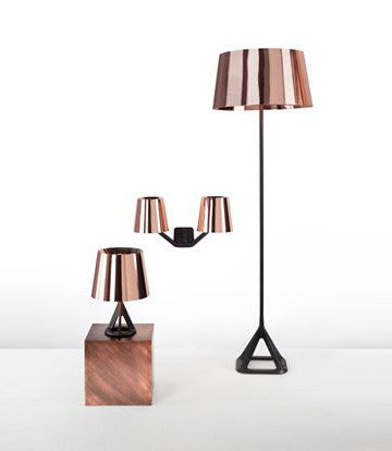 Tom Dixon Base Copper Series Table Lamp 金沙 桌燈 亮面系列