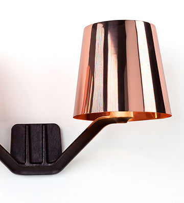 Tom dixon base copper series wall lamp luxury tom dixon base copper series wall lamp mozeypictures Gallery