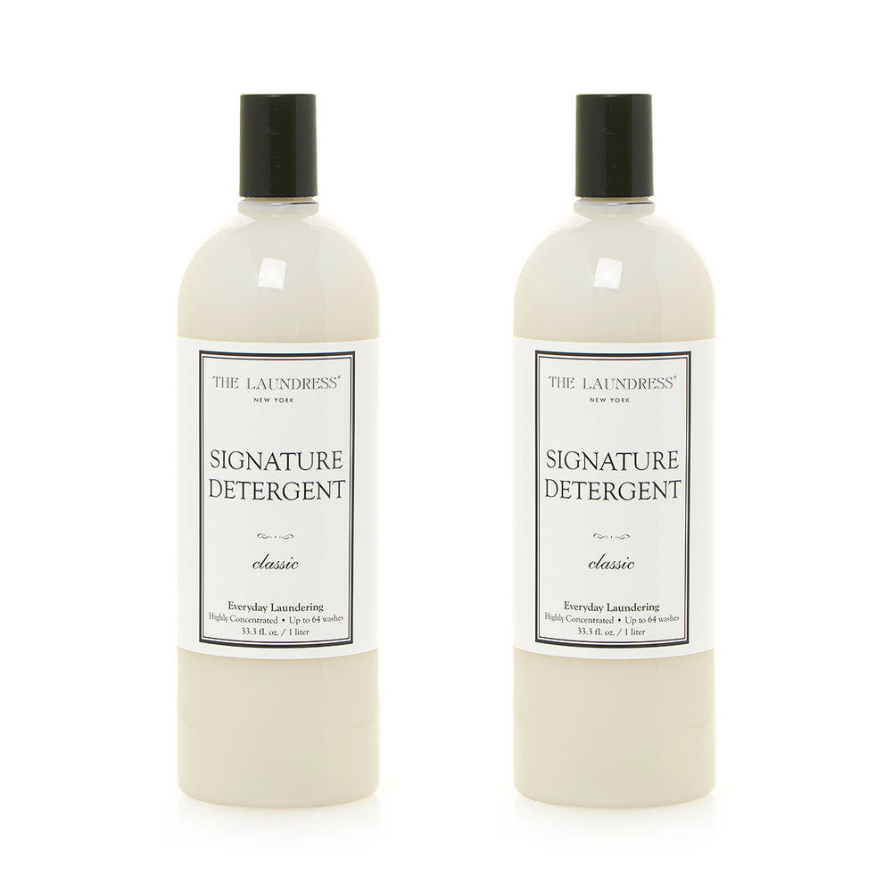 The Laundress Laundry Detergent, Signature Detergent 1.0L 衣物清潔系列 全效洗衣精 兩瓶裝 套組