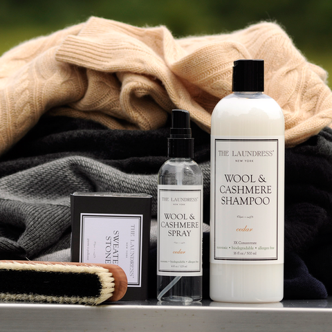 The Laundress Laundry Detergent, Wool and Cashmere Spray 125ml 衣物保養系列 毛料衣物香氛噴霧 兩瓶裝 套組 - Cedar 香味款式
