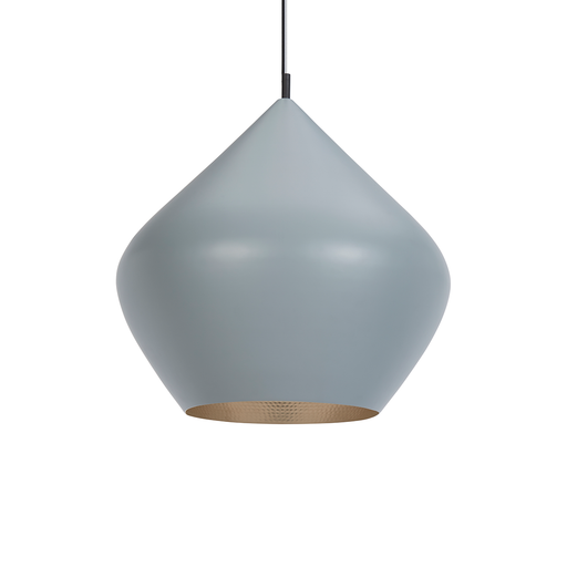 Tom Dixon Beat Grey Light Series Stout Suspension Lamp 黑桃 吊燈 藍灰色系
