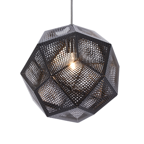 Tom Dixon Etch Shade Black Suspension Lamp 黑磚 吊燈