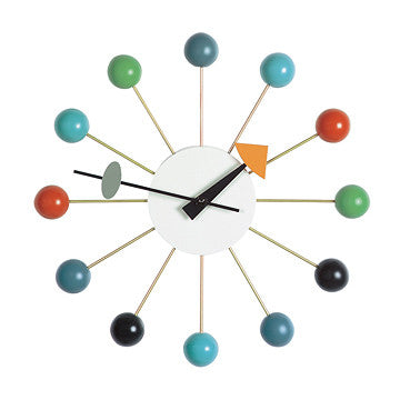 Vitra Ball Wall Clock 彩色圓球 壁鐘
