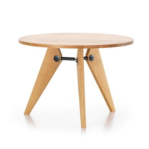 Vitra Gueridon Round Table 三角實木 圓形餐桌
