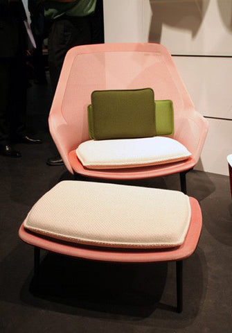 Vitra Slow Chair Ottoman 輕慢 椅凳