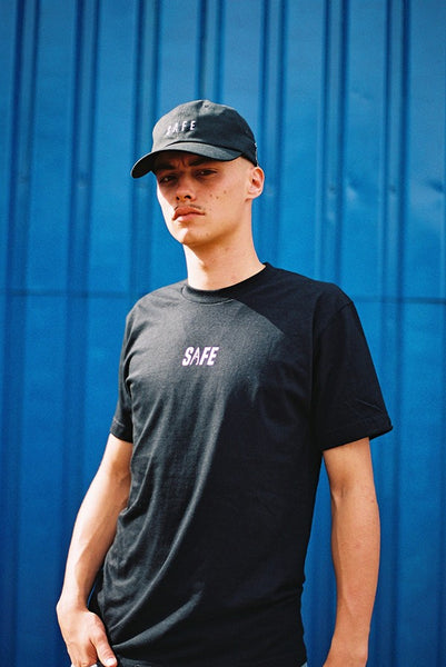SAFE X Bird Guy Tee Black