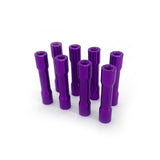 Aluminium standoffs 28mm tapered (8 pcs)