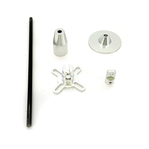 GPS Antenna Mount / Stand - Silver