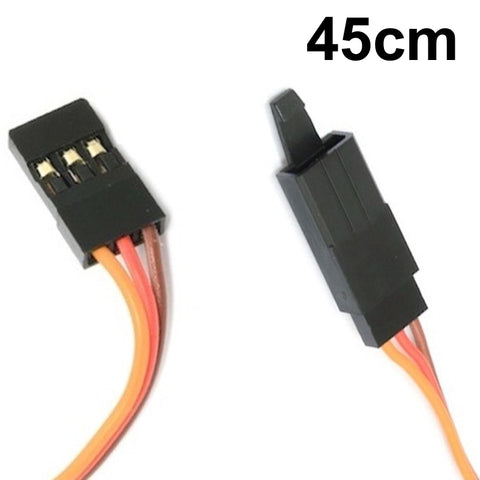 Servo Lead Extension 22AWG 45cm Male to Female
