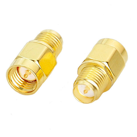 SMA Male to RP-SMA Female Straight RF Adapter Connector