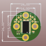 AM4096PT — on-axis magnetic encoder