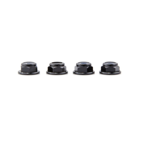 M5 Alu Loc Nuts With Flange CCW (Left hand / Reverse) x 4
