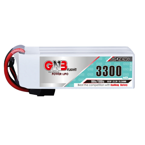 GNB  3300MAH 6S 90C XT60 BATTERY