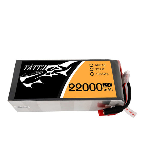Tattu 22000mAh 6S 25C - XT150 + AS150