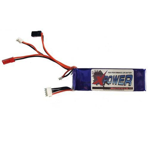X-Power 2000mAh LiFe 9.9V 1C transmitter pack