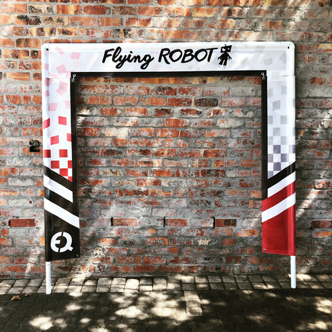 Flying Robot Race Gate