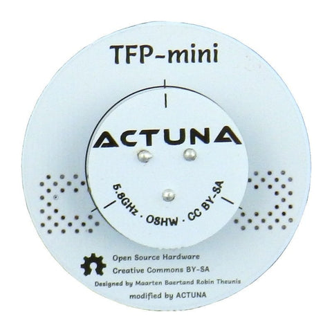 Actuna Triple Feed Patch (With Terminator, Connectors and Coax) - Mini