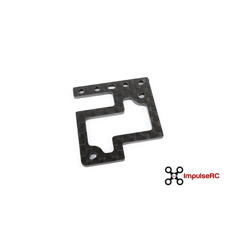 "ImpulseRC Alien 5"" spare camera plate - 1.5mm carbon"