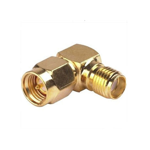 SMA Male to SMA Female 90 degree Adapter