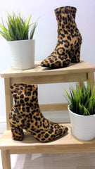 PUR-FECT LEOPARD SOCK BOOT