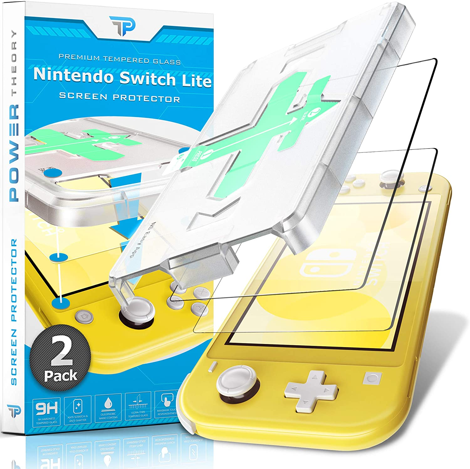 Power Theory Screen Protector for Nintendo Switch LITE [2-Pack]