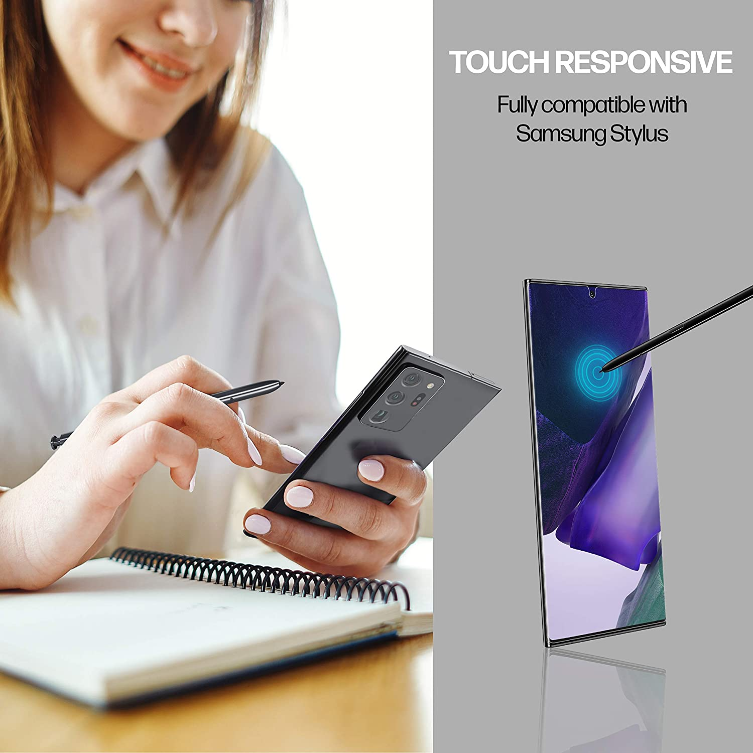 Power Theory Samsung Galaxy Note 20 ULTRA Screen Protector [2-pack]