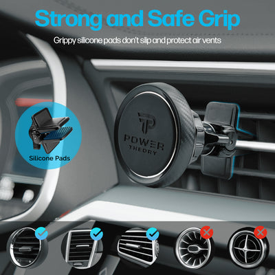 Power Theory Magnetic Phone Holder for Car