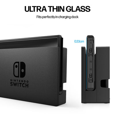 Power Theory Screen Protector for Nintendo Switch [2-Pack]